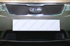 KIA CERATO 2011-2013г.в. (II) - Защита радиатора СТАНДАРТ