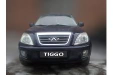 CHERY TIGGO 2006-2014г.в. (I) - Защита радиатора СТАНДАРТ