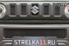 SUZUKI JIMNY 2018-2021г.в. (IV) - Защита радиатора СТАНДАРТ