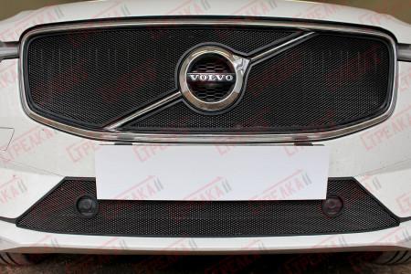 VOLVO XC60 2017-2021г.в. (II) с парктроником - Защита радиатора СТАНДАРТ