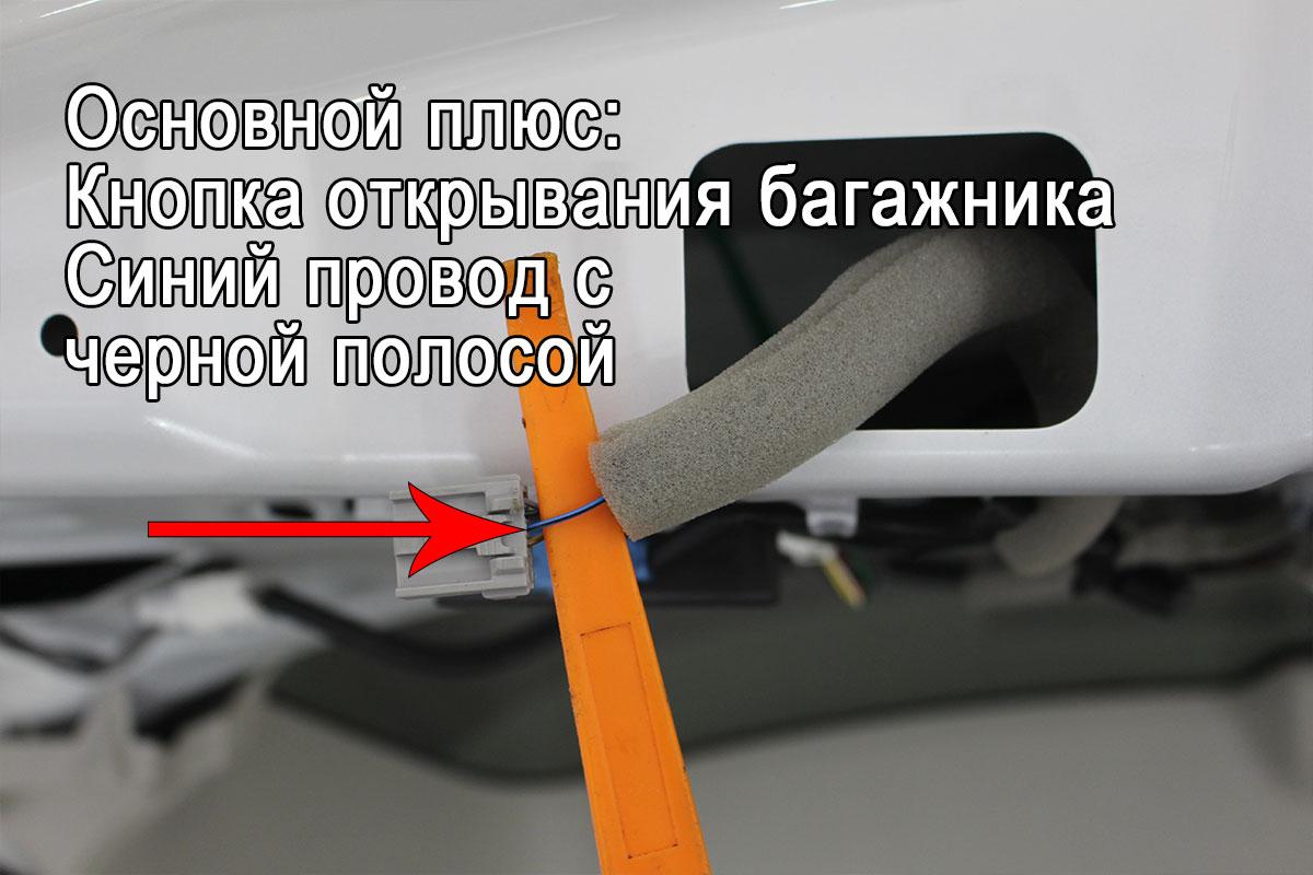 Защита камеры заднего вида