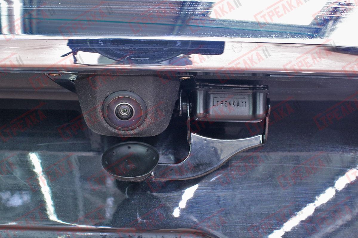 Крышка камеры открыта
